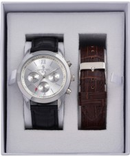 minster MN-SET2 Mens Watch and Strap Gift Set