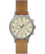 Timex TW4B09200 Mens Expedition Tan Leather Strap Watch