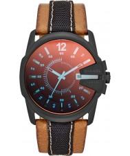 Diesel DZ1600 Mens Master Chief Tan Leather Strap Watch