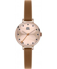 Orla Kiely OK2034 Ladies Ivy Tan Leather Strap Watch