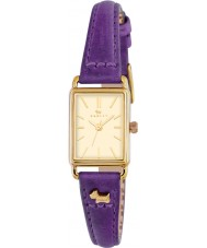 Radley RY2354 Ladies Hyde Park Eggplant Leather Strap Watch