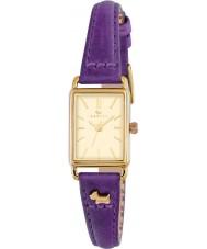 Radley RY2354 Ladies Hyde Park Eggplant Leather Strap Watch