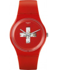 Swatch SUOR106 New Gent - Swiss Around The Clock Watch