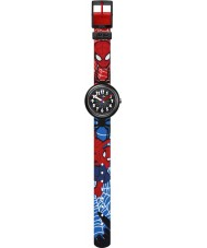 Flik Flak FLNP021 Boys Spiderman Two Tone Watch
