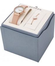 Skagen SKW1113 Ladies Freja Watch and Bracelet Gift Set