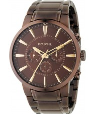 Fossil FS4357 Mens Brown Dial And Bracelet Dress Watch