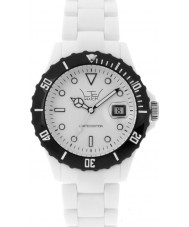LTD Watch LTD-020512 Unisex Limited Edition White Dial And Pu Strap Watch