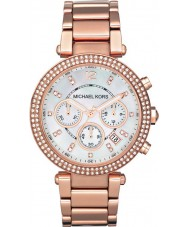 Michael Kors MK5491 Ladies Parker Rose Gold Chronograph Watch