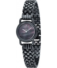 Fjord FJ-6010-33 Ladies Jette 2 Hand All Black Watch