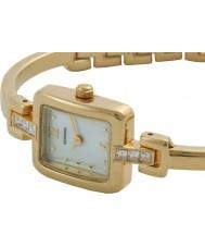 Sekonda 4950G Ladies Gift Set White Stone Set Bracelet