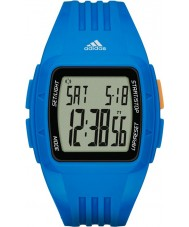 Adidas Performance ADP3234 Duramo Blue Resin Strap Watch