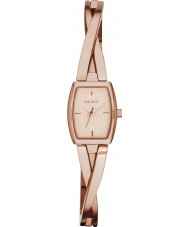 DKNY NY2314 Ladies Crosswalk Rose Gold Steel Bracelet Watch
