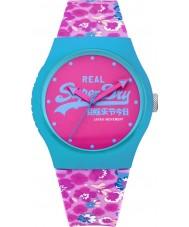 Superdry SYL169UP Ladies Urban Floral Printed Pink Watch