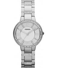 Fossil ES3282 Ladies Virginia Silver Steel Watch
