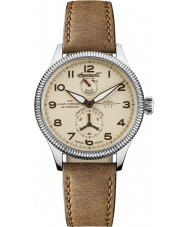 Ingersoll IN3107SCR Mens Cobham II Brown Leather Strap Automatic Watch