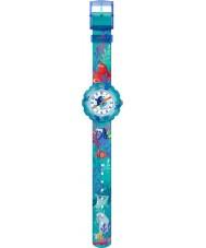 Flik Flak FLSP011 Girls Disney Pixar Finding Dory Multicoloured Textile Strap Watch