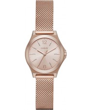 DKNY NY2489 Ladies Parsons Rose Gold Plated Mesh Bracelet Watch