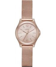 DKNY Ladies Parsons Rose Gold Plated Mesh Bracelet Watch