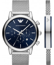 Emporio Armani AR80038 Mens Watch and Bracelet Gift Set