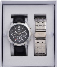 minster MN-SET4 Mens Watch and Strap Gift Set