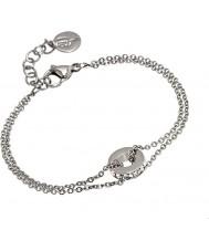 Edblad 31630074 Ladies Isa Silver Steel Bracelet