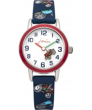 Joules JS002 Boys Navy Tractor Printed Silicone Watch