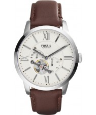 Fossil ME3064 Mens Townsman Brown Leather Automatic Watch