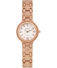 Krug Baümen 5116RDL Charleston 4 Diamond Rose Gold Dial Gold Strap