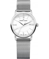 Maurice Lacroix EL1094-SS002-110-2 Ladies Eliros Silver Steel Bracelet Watch