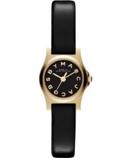 Marc Jacobs MBM1240 Ladies Henry Black Leather Strap Watch