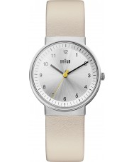 Braun BN0031SLBGL Ladies Silver Beige Watch