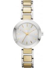 DKNY NY2401 Ladies Stanhope Two Tone  Steel Bracelet Watch