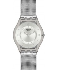 Swatch SFM118M Skin - Metal Knit Watch