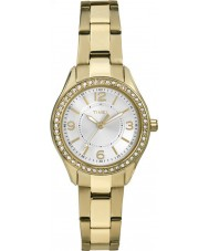 Timex TW2P80100 Ladies Chesapeake Gold Plated Bracelet Watch