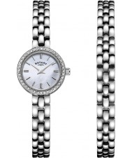 Rotary LB00017-BRS-07S Ladies Watch Gift Set