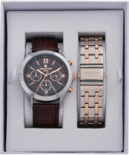 minster MN-SET5 Mens Watch and Strap Gift Set