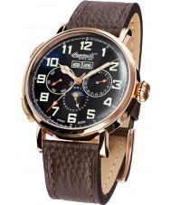 Ingersoll IN1917RBK Mens De Weerd Brown Leather Strap Watch