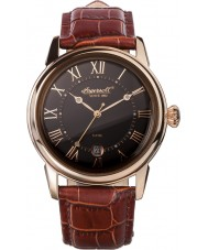 Ingersoll INQ001BRRS Mens Brown Leather Strap Watch