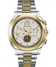 Bulova 98B232 Mens Dress Two Tone Chronograph Watch