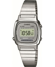 Casio LA670WEA-7EF Collection Silver Digital Watch