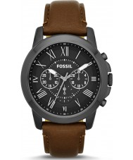 Fossil FS4885 Mens Grant Chronograph Brown Watch