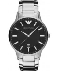 Emporio Armani AR2457 Mens Classic Black Silver Watch