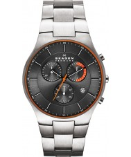 Skagen SKW6076 Mens Aktiv Grey Titanium Chronograph Watch