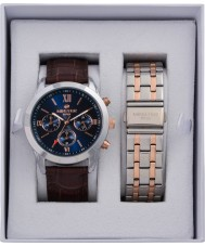 minster MN-SET6 Mens Watch and Strap Gift Set