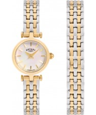 Rotary LB00173-BR-40S Ladies Watch Gift Set
