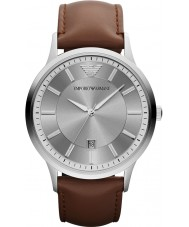 Emporio Armani AR2463 Mens Classic Grey Brown Watch