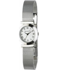Accessorize B1065 Ladies Silver White Watch