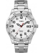Timex TW2P61400 Mens Fieldstone Way Silver Steel Bracelet Watch