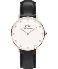 Daniel Wellington DW00100076 Ladies Classy Sheffield 34mm Rose Gold Watch