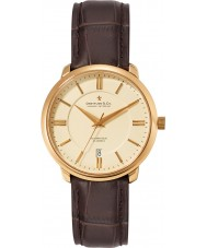 Dreyfuss and Co DGS00101-03 Mens 1925 Gold Brown Automatic Watch